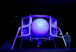 Blue Origin is challenging SpaceX's Artemis lander contract from NASA