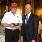 Republicans Ridiculed For Gifting Trump 'Made Up' Tiny Bowl Award