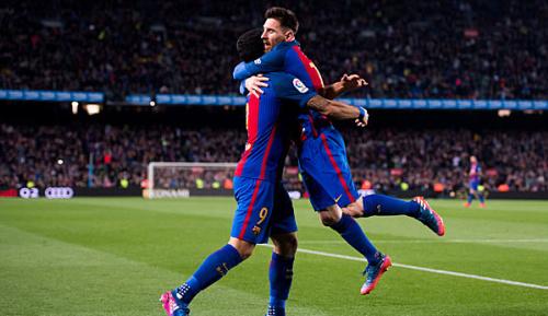 Primera Division: 28. Spieltag: Dezimiertes Valencia muss sich Barca ergeben