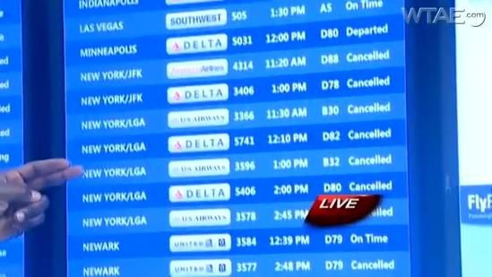 Massive blizzard forces travelers to alter plans