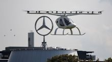 Dem Stau entfliegen: Volocopter hebt über Stuttgart ab