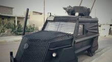 Kurdish Troops Using Mad Max-Style Armored Trucks Against ISIS