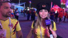 El amor hace olvidar la frustración colombiana
