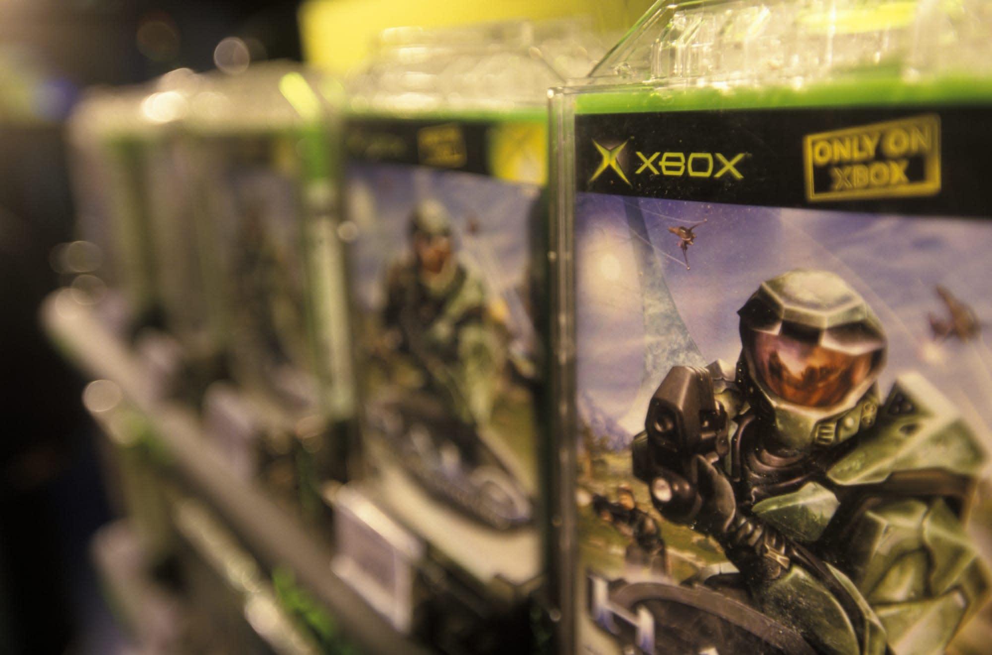 Microsoft Xbox Video Games