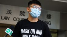 Hong Kong court grants activist Joshua Wong temporary release on unauthorised assembly, mask ban charges