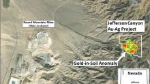 Gold79 Outlines a Four Square Kilometre Gold-In-Soils Anomaly at its Jefferson Canyon Project, Nevada