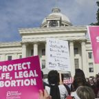 Trump differs from Alabama on near-total abortion ban