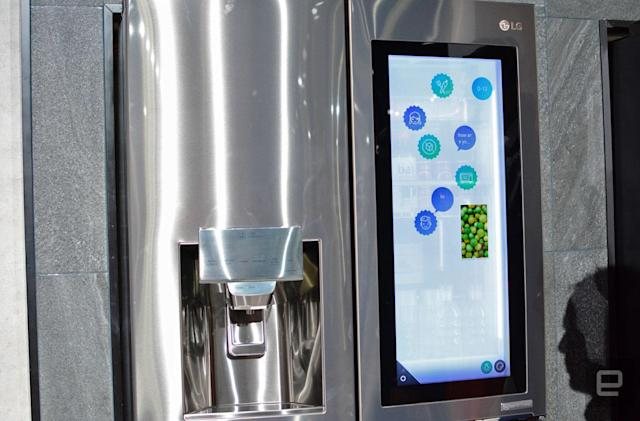 LG put Alexa in a refrigerator and it seems like a great idea