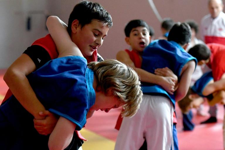 Georgia's 'chidaoba' wrestling joins UNESCO heritage list