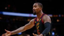 Report: J.R. Smith got suspended for throwing a bowl of soup at a Cavs coach, because of course he did