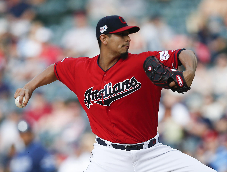 Indians Carrasco Baseball