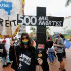 Brazilians protest Bolsonaro's role in half a million COVID-19 deaths