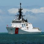 U.S. Navy, Coast Guard ships pass through strategic Taiwan Strait