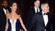 Amal Clooney Looked Stunning in a Breezy J. Mendel Dress