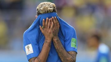Neymar cries after final whistle in Brazil triumph