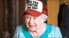 'The Late Show' Imagines How The Queen Could Have Thrown Shade At Trump