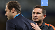 Lampard grateful for Cech help as he aims to end first season as Chelsea manager with FA Cup glory