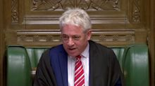 Watch: John Bercow has one last Commons row with Tory MP on final day as Speaker