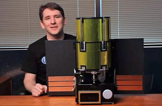 Planetary Resources shows off Arkyd-100 prototype, gives a tour of its workspace