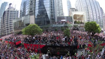 Gunfire reported during Raptors parade