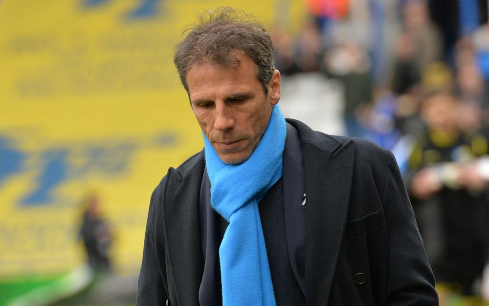 Gianfranco Zolaoversaw just two wins in 22 league games - Rex Features
