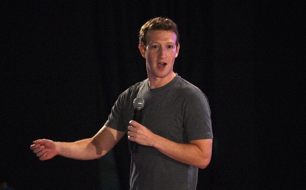 Mark Zuckerberg said in a Facebook post that the Muslim community should not face discrimination following attacks in Paris and elsewhere linked to extremists (AFP Photo/Money Sharma)