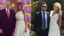 Melania Trump and Tiffany Trump Matched for Easter at Mar-a-Lago
