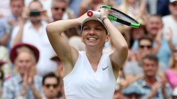 Halep denies Serena's shot at history