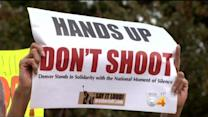 'Hands Up, Don't Shoot' Rally In Denver Supports Ferguson, Mo., Protesters