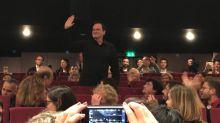 影/昆汀塔倫提諾現身「看國片」 坎城觀眾熱烈鼓掌