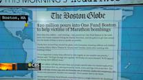 Headlines: More than $20M donated to Boston bombing victims
