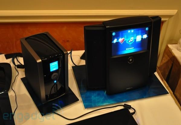 Linksys Wireless Home Audio and Media Hub NAS hands-on