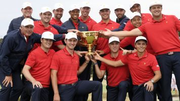 U.S. rallies to win Presidents Cup in nailbiter