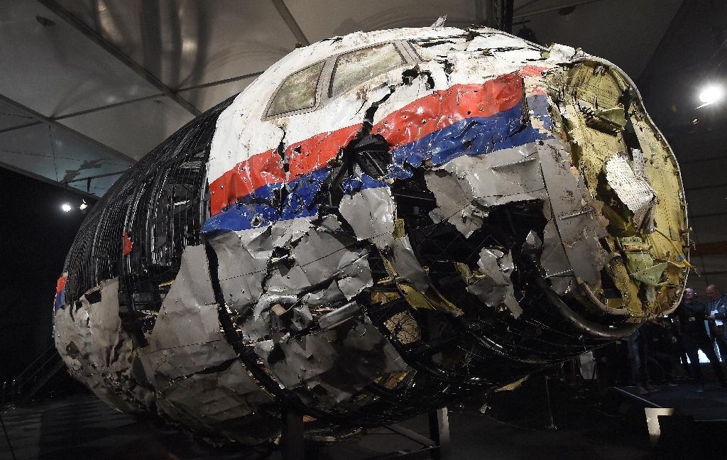 International investigators have said the Boeing airliner flying from Amsterdam to Kuala Lumpur was blown out of the sky over conflict-wracked east Ukraine on July 17, 2014 by a Buk missile system brought in from Russia (AFP Photo/EMMANUEL DUNAND)