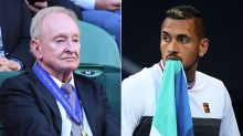 Get over it: Laver's advice to Kyrgios