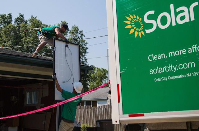 Tesla makes its case for buying SolarCity