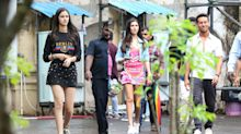 Spotted: Tiger Shroff, Ananya Panday, Tara On the Sets of 'SOTY 2'