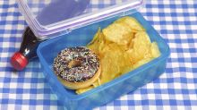 Parents are feeling guilty about what they put in their child's lunch boxes