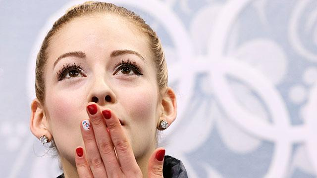 Sochi Mysteries Why Did Julia Lipnitskaia Get An Ear Rub