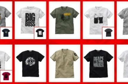 MGS: Peace Walker UNIQLO shirts available in the US in June