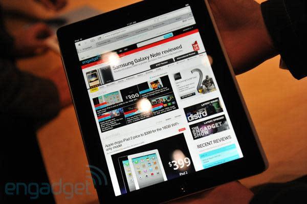 Neues iPad: Am Freitagmorgen um 8.00 Uhr im Apple Store erhältlich