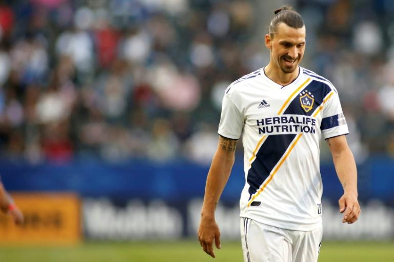 Zlatan Ibrahimovic proved to be unstoppable, scoring three goals as the LA Galaxy upset their top ranked rival LAFC 3-2 at Dignity Health Park