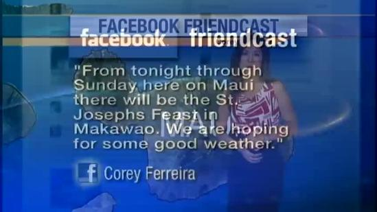 Facebook Friendcast: Corey Ferreira