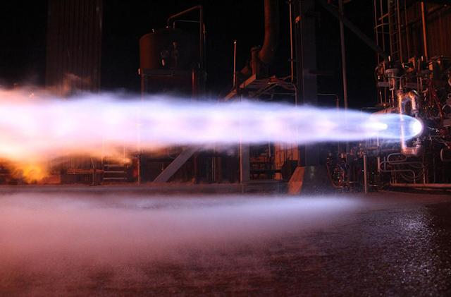 Blue Origin subjected rocket engine to over 100 rounds of testing