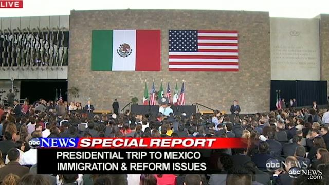Obama Stresses Importance of Breaking Down Stereotypes Bewteen Mexico, US