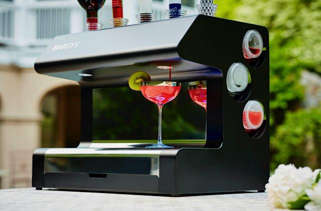 Barsys $1,500 robot bartender promises cocktails with AI precision