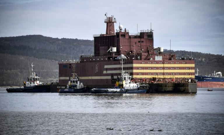 Russia's floating nuclear plant sails to its destination