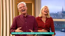 Viewers left puzzled as Phillip Schofield and Holly Willoughby try 'laughter yoga'