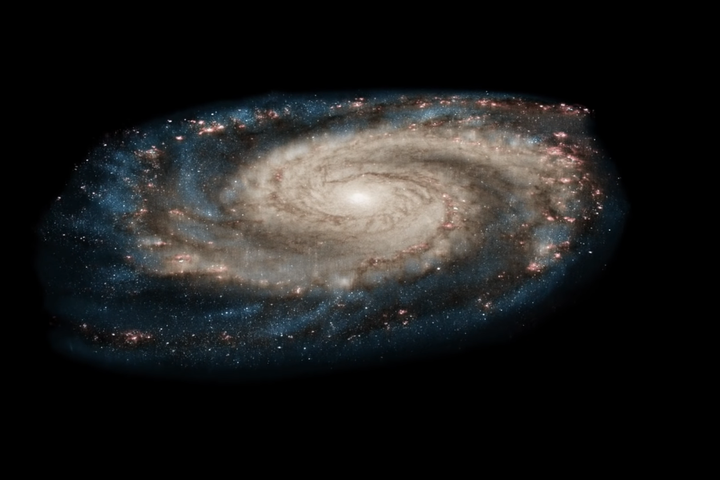 Dizzying Hubble video zooms in for a detailed, layered look at the Whirlpool Galaxy