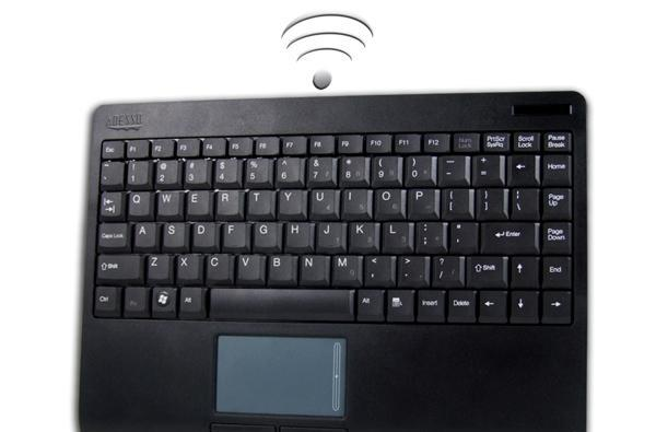 Adesso rolls out compact WKB-4000UB wireless keyboard